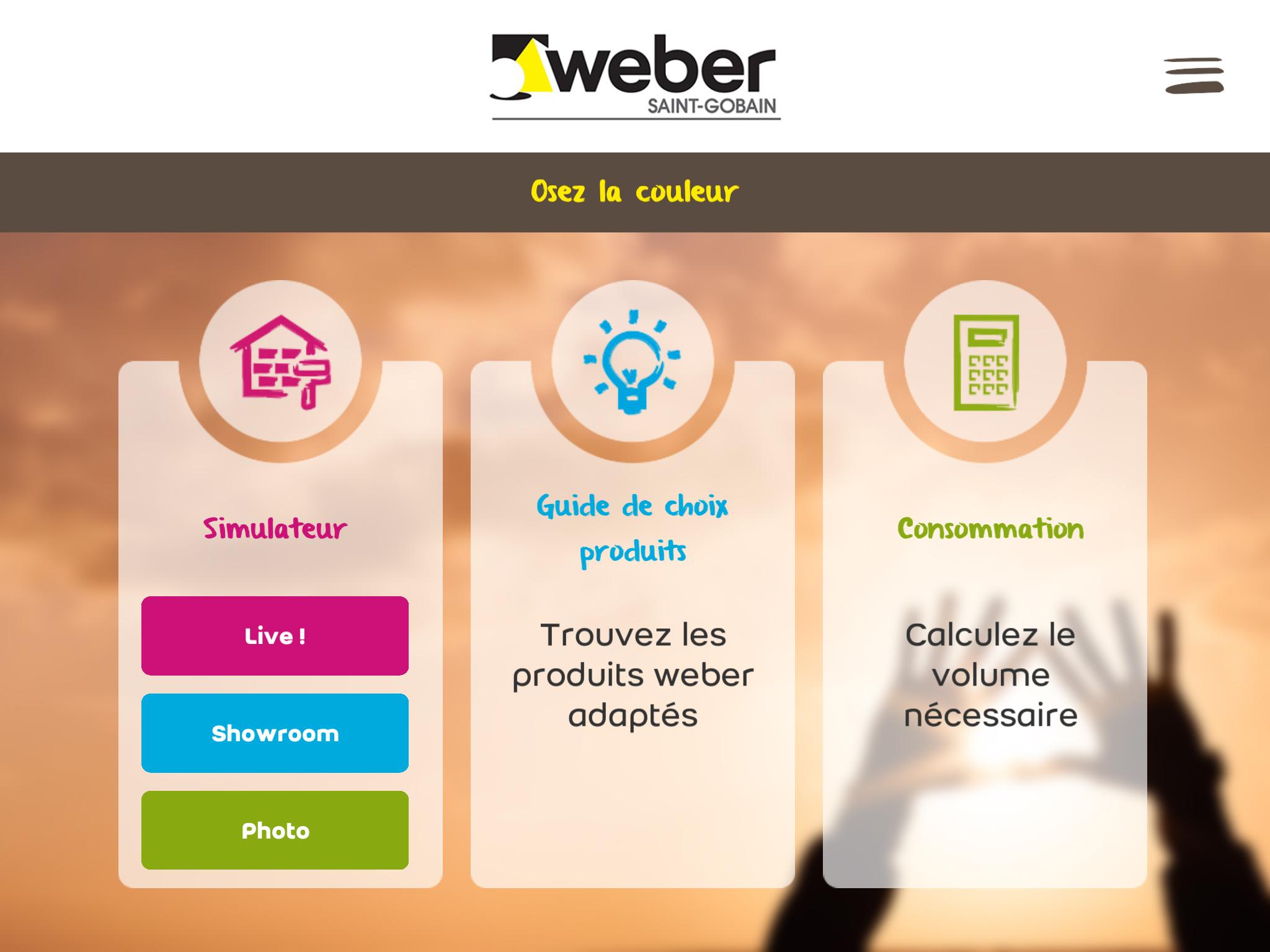 Webercolor, une application pour visualiser le rendu du jointoiement sur son carrelage apercu