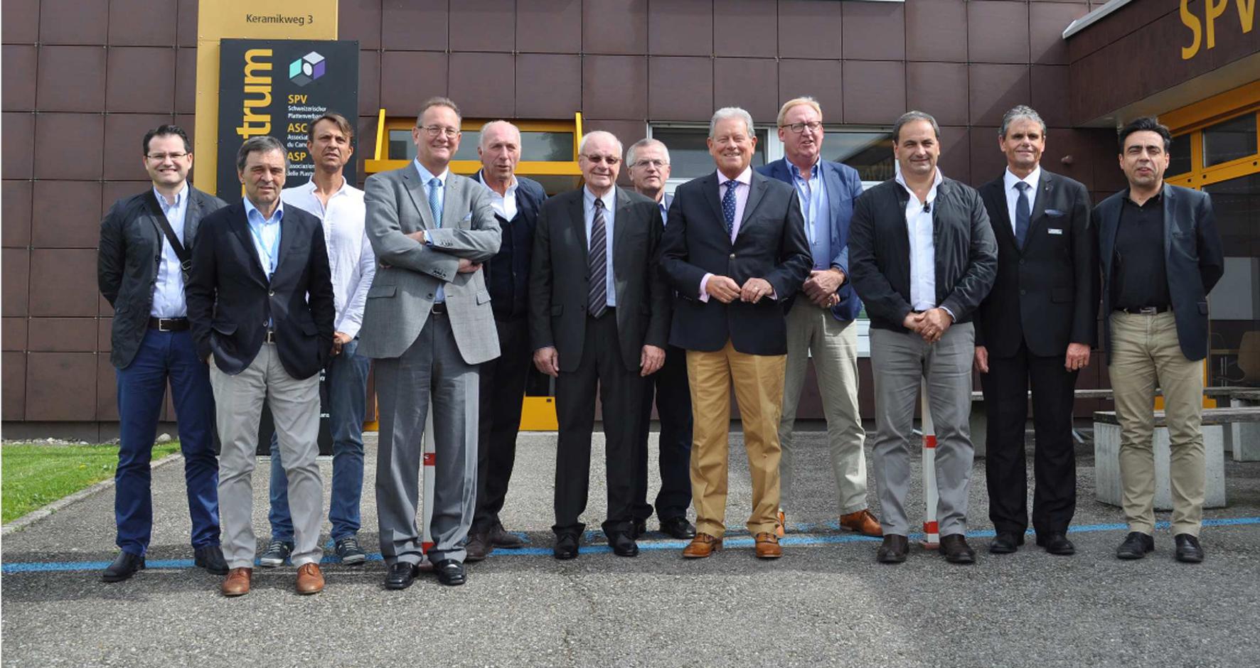 Élection d'un nouveau comité directeur et réunions techniques aux Journées européennes du carrelage de l'EUF apercu
