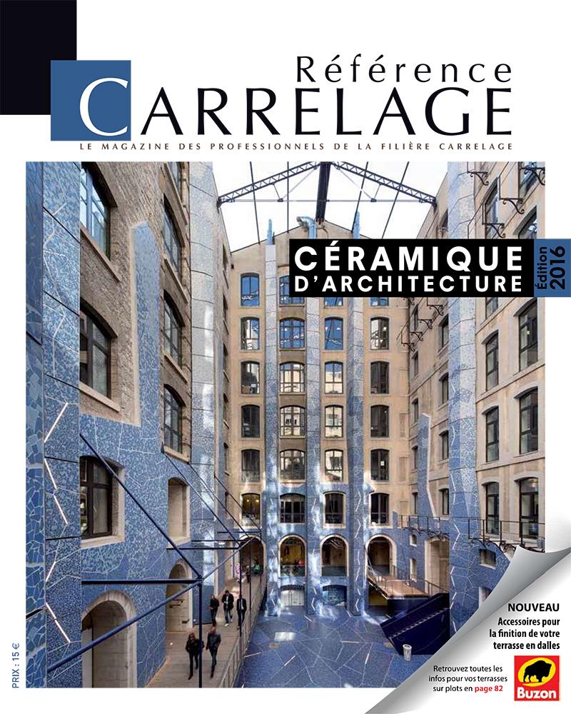Vient de paraître : Référence CARRELAGE N°60 – Juillet/Août 2016 apercu