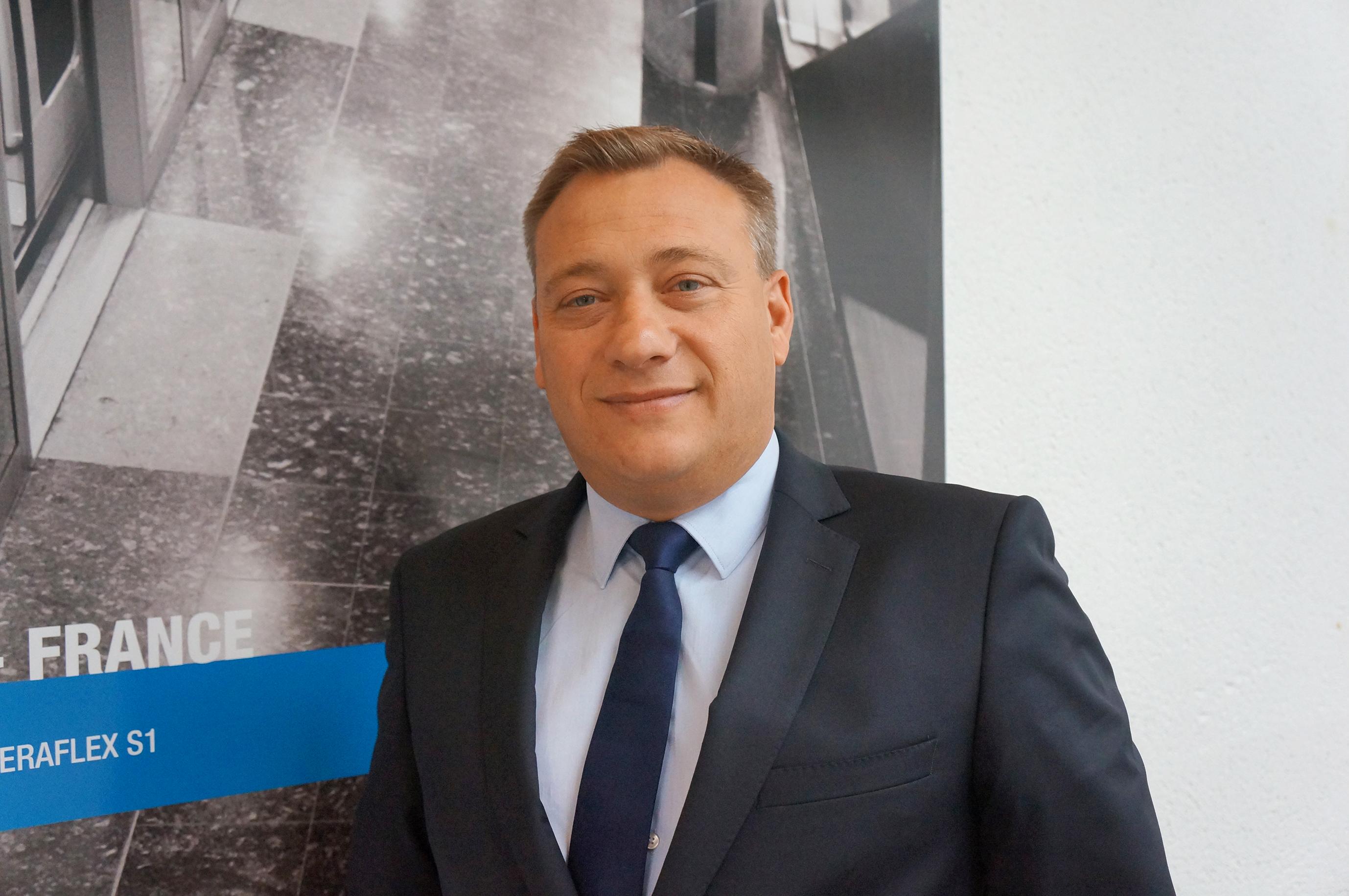 Un nouveau directeur des ventes chez Mapei apercu
